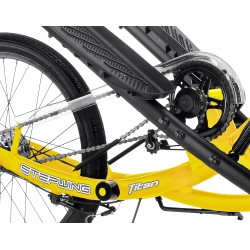 Vélo stepper T3 brizon  jaune