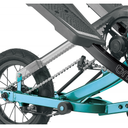 vélo stepper stepwing G1 bleu turqoise